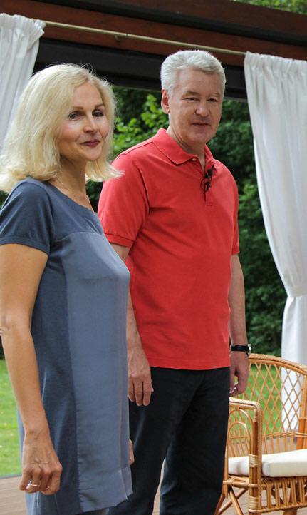 собянин с женой фото